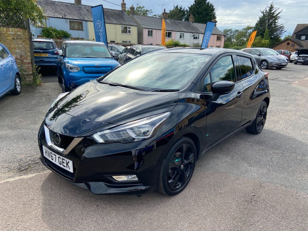 USED 2017 67 NISSAN MICRA 0.9 IG-T N-CONNECTA 5d 89 BHP