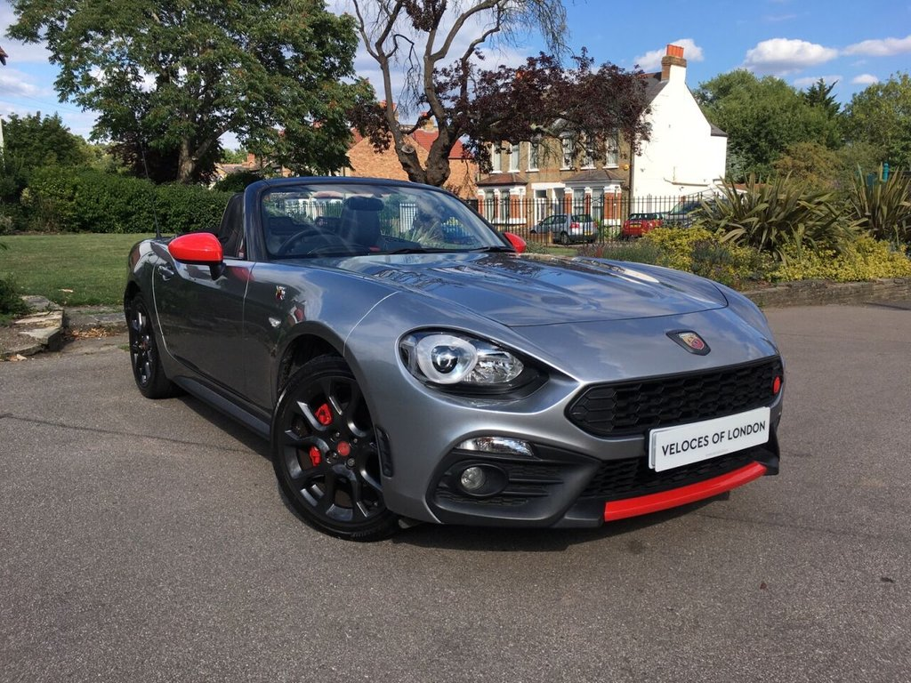 USED 2018 18 ABARTH 124 1.4L SPIDER MULTIAIR 2d 168 BHP ..UK WIDE DELIVERY AVAILABLE..