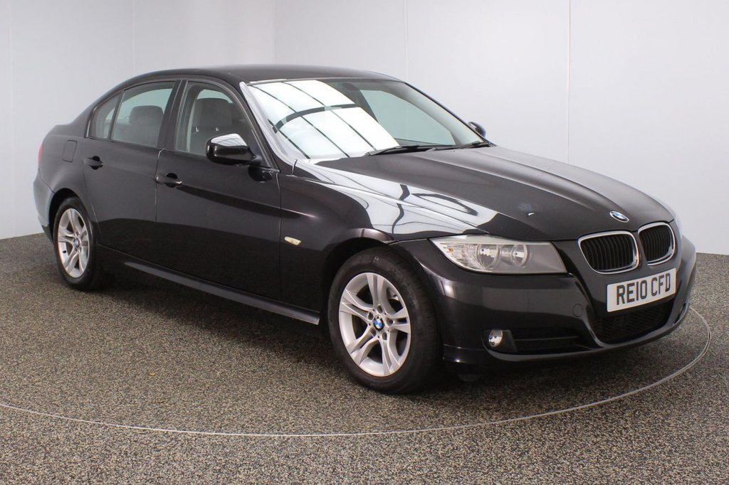 USED 2010 10 BMW 3 SERIES 2.0 320D ES 4DR 181 BHP FULL SERVICE HISTORY + PARKING SENSOR + MULTI FUNCTION WHEEL + AIR CONDITIONING + RADIO/CD/AUX + ELECTRIC WINDOWS + ELECTRIC MIRRORS + 18 INCH ALLOY WHEELS