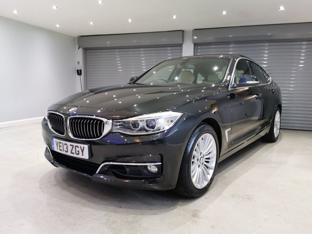 USED 2013 13 BMW 3 SERIES 2.0 320I LUXURY GRAN TURISMO 5d 181 BHP FULL BMW SERVICE HISTORY + REVERSING CAMERA + HEATED SEATS + POWER TAIL GATE
