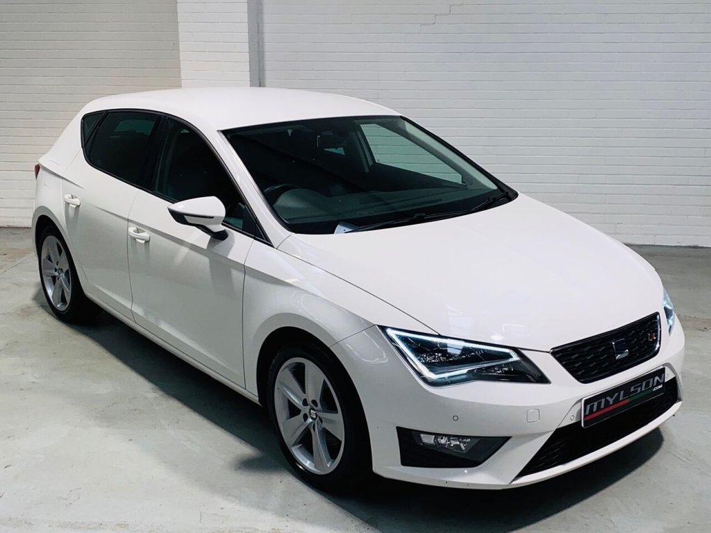 USED 2015 15 SEAT LEON 2.0 TDI FR TECHNOLOGY 5d 184 BHP Tech Pack, Leather Trim, Privacy Glass, Low Mileage, £20 Road Tax