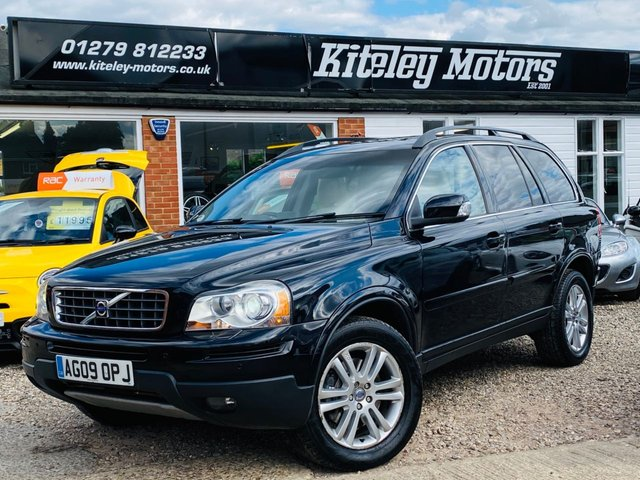 2009 09 VOLVO XC90 2.4 D5 SE PREMIUM AWD AUTO REAR ENTERTAINMENT