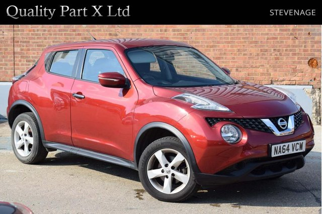 USED 2014 64 NISSAN JUKE 1.5 dCi 8v Visia (s/s) 5dr AUX, CD/MP3, HPI CLEAR
