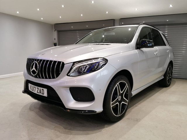 USED 2017 17 MERCEDES-BENZ GLE-CLASS 3.0 GLE 350 D 4MATIC AMG LINE 5d 255 BHP NIGHT PACK + SATELLITE NAVIGATION + REVERSING CAMERA