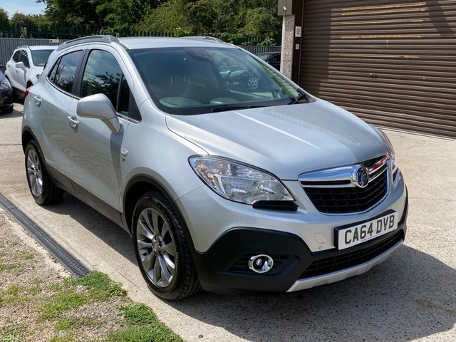 USED 2014 64 VAUXHALL MOKKA 1.7 SE CDTI S/S 5d 128 BHP LEATHER TRIM + TWO LADY OWNERS