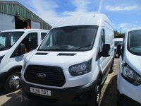 USED 2018 18 FORD TRANSIT 2.0 350 L3 H3 DRW 5d 130 BHP 18 18 transit 350 lwb hi roof 30,000 miles finance from 6.9% Apr
