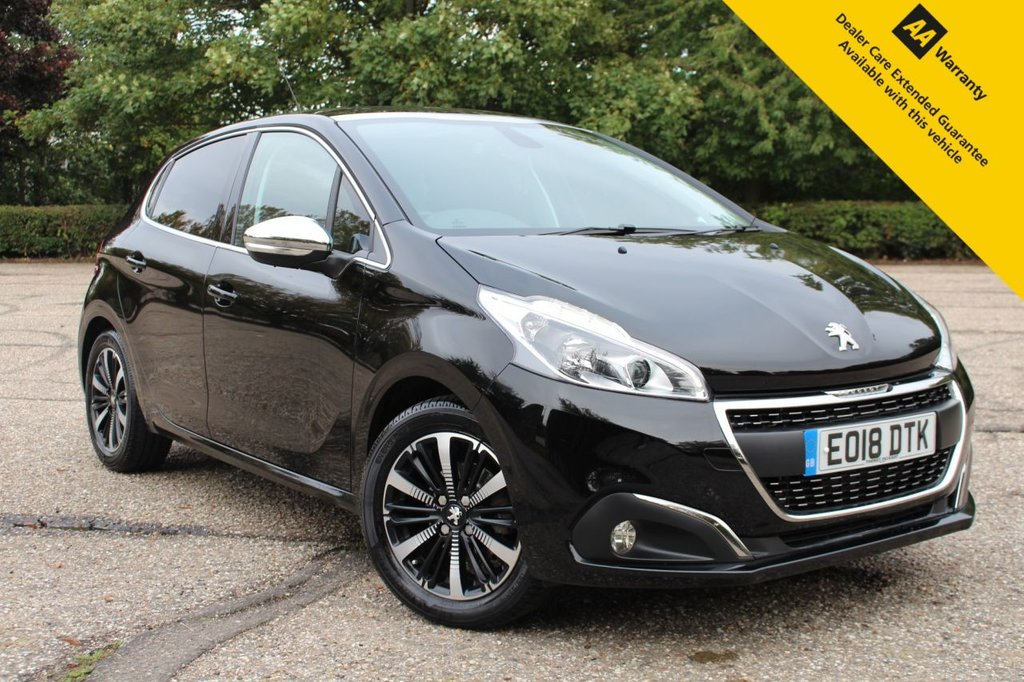 USED 2018 18 PEUGEOT 208 1.2 PURETECH ALLURE PREMIUM 5d 82 BHP ** 1 OWNER FROM NEW ** FULL PEUGEOT SERVICE HISTORY ** BRAND NEW ADVISORY FREE MOT UPON SALE ** REAR PARKING CAMERA ** PANORAMIC GLASS ROOF ** CRUISE CONTROL ** AIR CON ** ULEZ CHARGE EXEMPT ** £0 DEPOSIT FINANCE AVAILABLE ** NATIONWIDE DELIVERY AVAILABLE ** CLICK & COLLECT AVAILABLE **