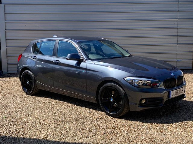 USED 2016 66 BMW 1 SERIES 1.5 118I SPORT 5d 134 BHP Mineral Grey with Black Alloys