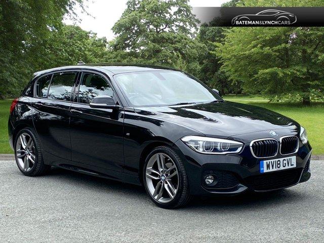 2018 18 BMW 1 SERIES 2.0 118D M SPORT 5d 147 BHP