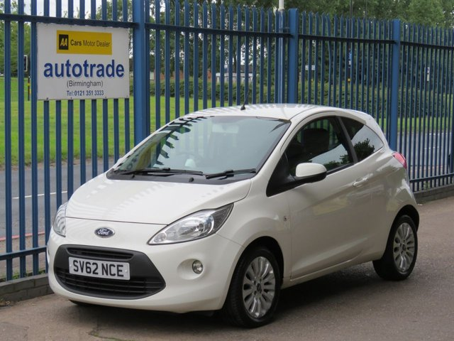 USED 2012 62 FORD KA 1.2 ZETEC 3dr Air con Bluetooth Alloys Fogs Ulez compliant AIR CON, BLUETOOTH, HEATED FRONT WINDSCREEN, REMOTE LOCKING, C/D RADIO, ALLOYS, ULEZ COMPLIANT