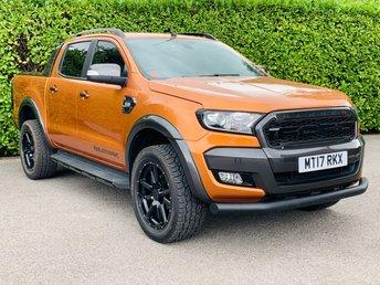 2017 FORD RANGER 3.2 WILDTRAK 4X4 DCB TDCI 4d 197 BHP £23490.00