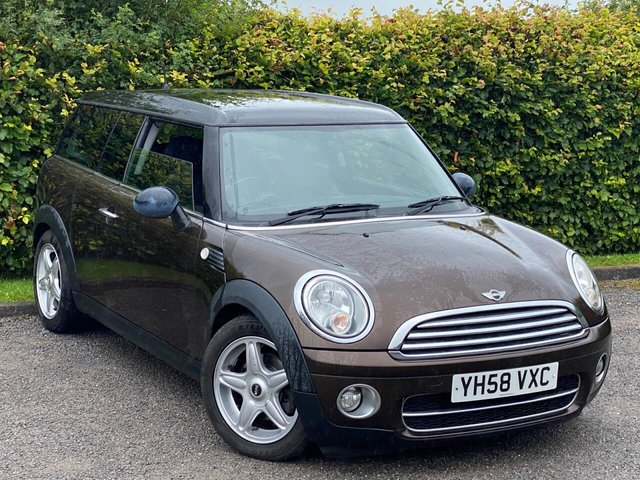 USED 2008 58 MINI CLUBMAN 1.6 COOPER D 5d 108 BHP VALUE FOR MONEY FAMILY CAR