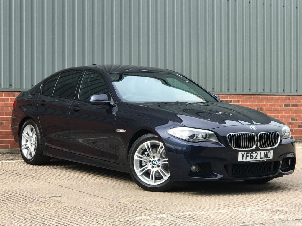 USED 2012 62 BMW 5 SERIES 2.0 520D M SPORT 4d 181 BHP EXCELLENT LOW MILEAGE EXAMPLE