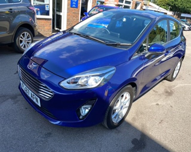 2018 67 FORD FIESTA 1.0 ZETEC NAVIGATOR AUTOMATIC ECOBOOST (100PS) NEW MODEL