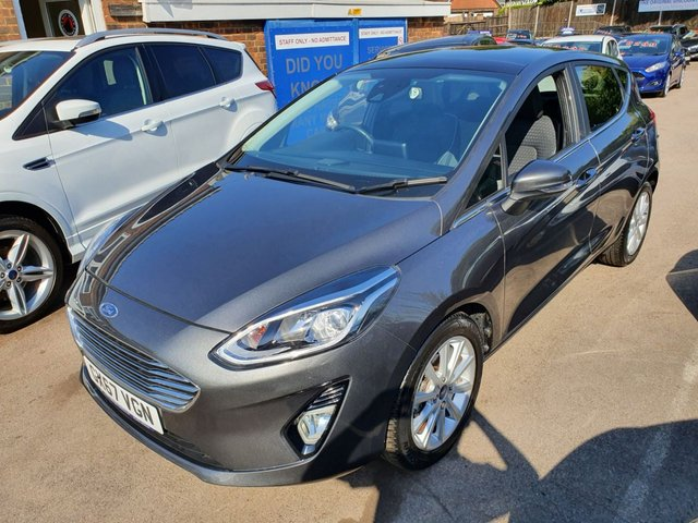 2017 67 FORD FIESTA 1.0 TITANIUM NAVIGATOR ECOBOOST (100PS) NEW MODEL (PAN ROOF)