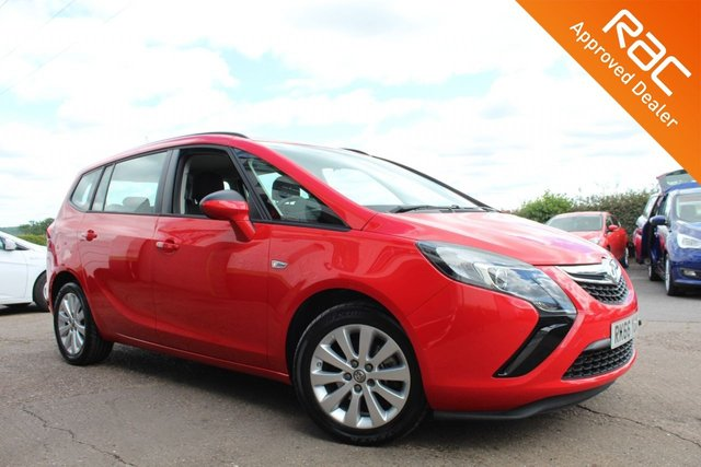 USED 2016 66 VAUXHALL ZAFIRA TOURER 1.4 DESIGN 5d 138 BHP VIEW AND RESERVE ONLINE OR CALL 01527-853940 FOR MORE INFO.