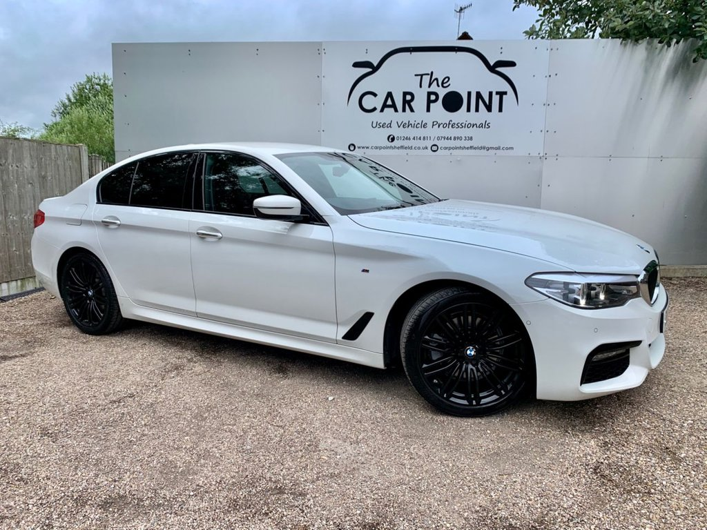 USED 2017 17 BMW 5 SERIES 2.0 520D XDRIVE M SPORT 4d AUTO 188 BHP