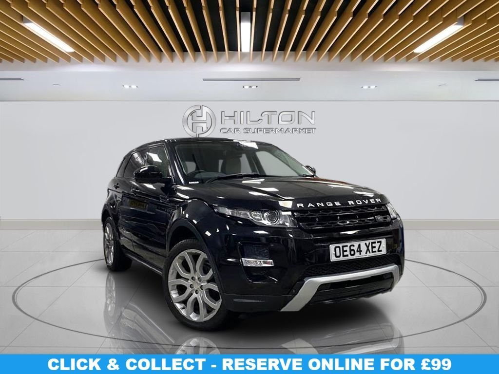 """USED 2015 64 LAND ROVER RANGE ROVER EVOQUE 2.2 SD4 DYNAMIC LUX 5d 190 BHP Leather Seats, 20"""" Alloy Wheels, Climate Control, Panoramic Roof, Parking Sensor(s), Privacy Glass"""