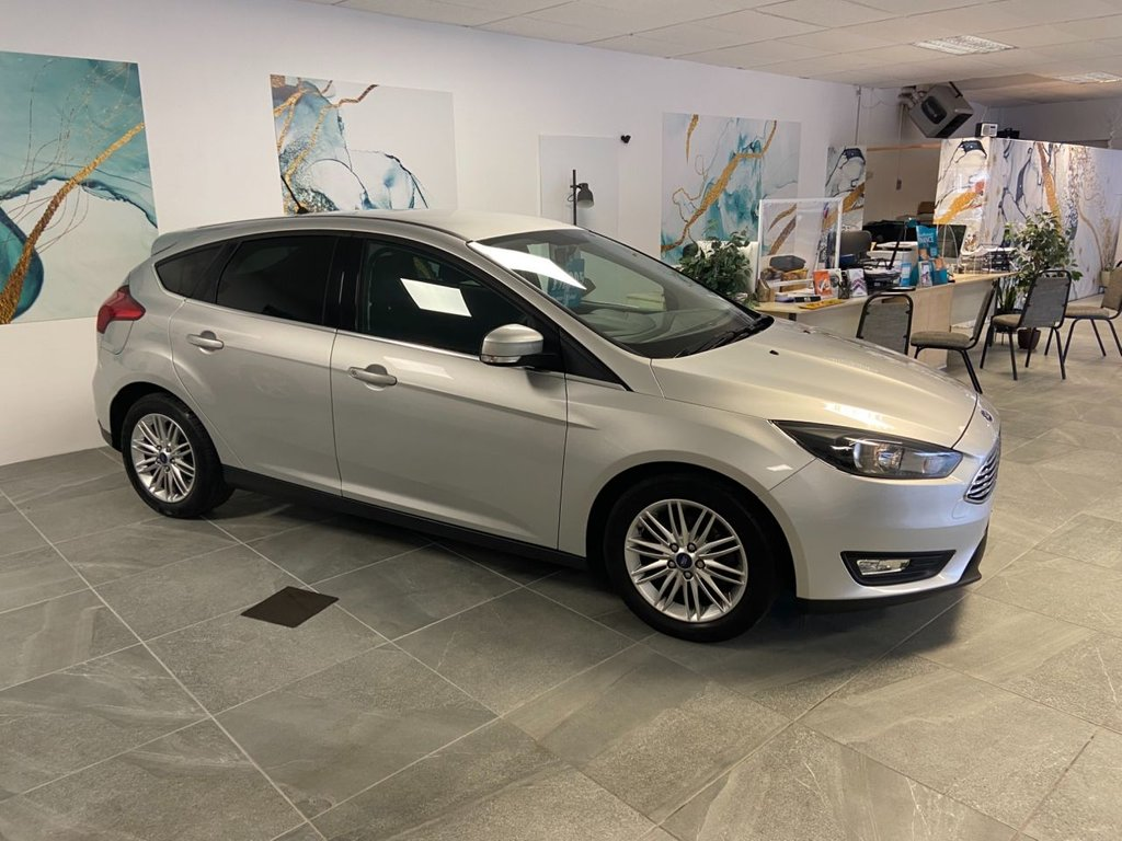USED 2017 17 FORD FOCUS 1.0 ZETEC EDITION 5d 100 BHP Navigation