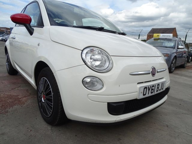 USED 2011 61 FIAT 500 1.2 POP 3d £30 ROAD TAX FOR THE YEAR
