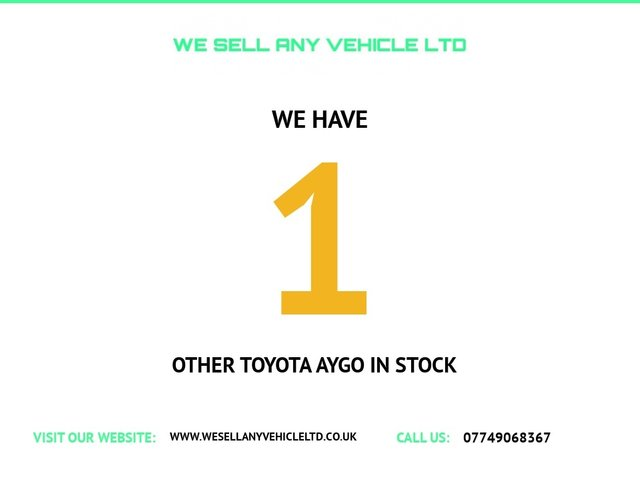 USED 2009 09 TOYOTA AYGO 1.0 VVT-I PLUS 5d 67 BHP LOW TAX AND INSURANCE