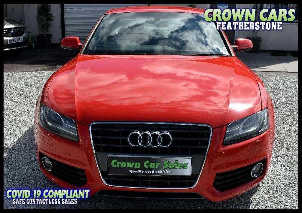 USED 2010 60 AUDI A5 2.0 TFSI S line Special Edition 2dr AMAZING LOW RATE FIANCE DEALS