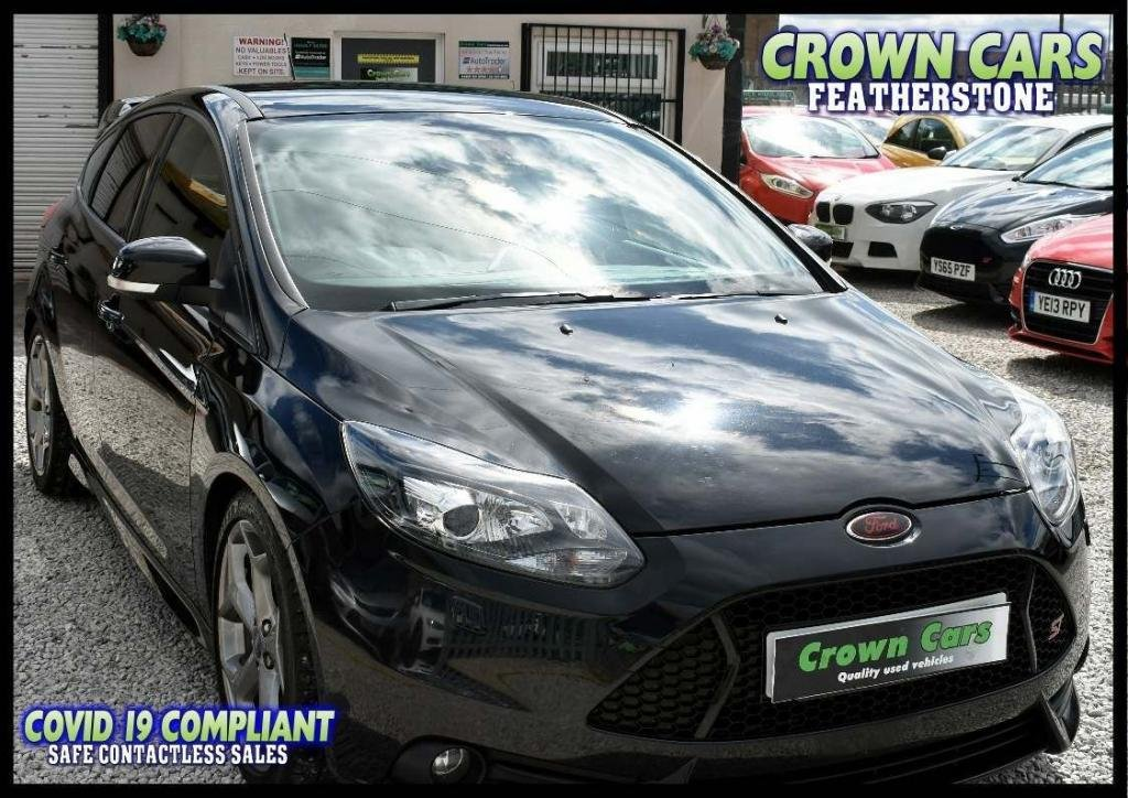 USED 2013 63 FORD FOCUS 2.0 T ST-3 5dr AMAZING LOW RATE FINANCE DEALS