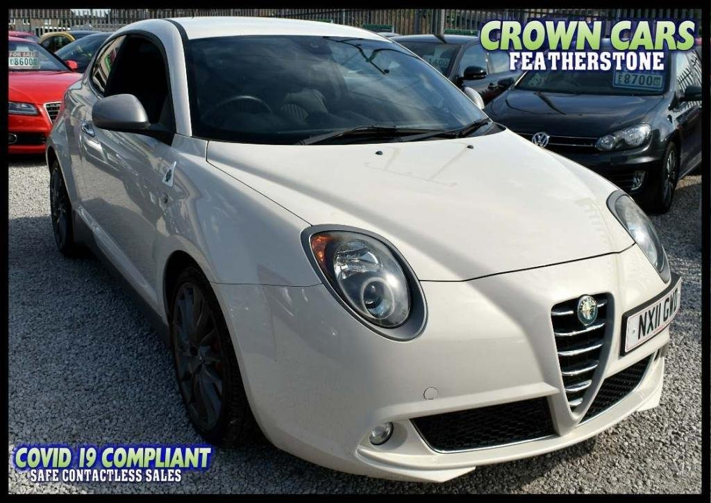 USED 2011 11 ALFA ROMEO MITO 1.4 TB MultiAir Cloverleaf (s/s) 3dr AMAZING LOW RATE FINANCE DEALS