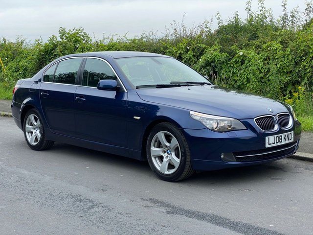 USED 2008 08 BMW 5 SERIES 3.0 525D SE 4d 195 BHP