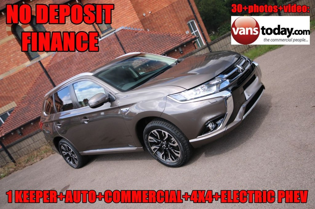 USED 2018 18 MITSUBISHI OUTLANDER 2.0 PHEV JURO COMMERCIAL 200 BHP PETROL/ELECTRIC HYBRID AUTO RARE COMMERCIAL PHEV + 1 KEEPER + LOW MILES + AUTO