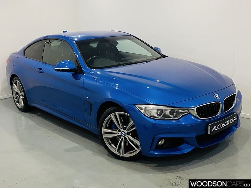 USED 2014 14 BMW 4 SERIES 3.0 435D XDRIVE M SPORT 2d 309 BHP Pro Navigation / 1 Owner From New / Bluetooth / Privacy Glass / Xenon Lights / DAB