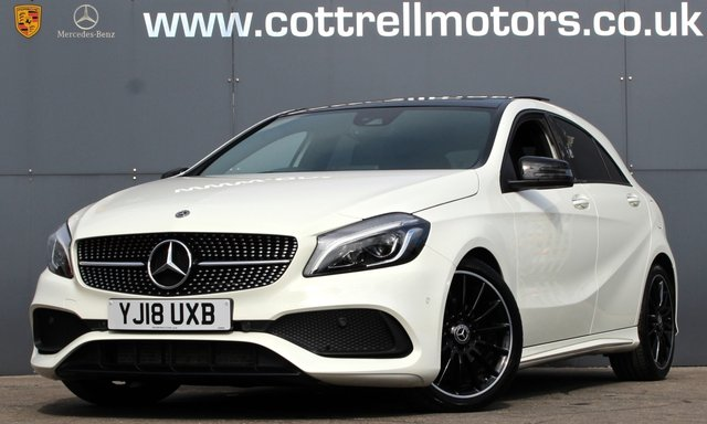 2018 18 MERCEDES-BENZ A-CLASS 2.1 A 200 D AMG LINE PREMIUM PLUS 5d 134 BHP [ 1 OWNER ]