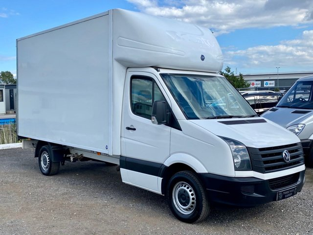 2016 16 VOLKSWAGEN CRAFTER 2.0 CR35 TDI C/C 109 BHP LUTON BOX VAN TAIL LIFT
