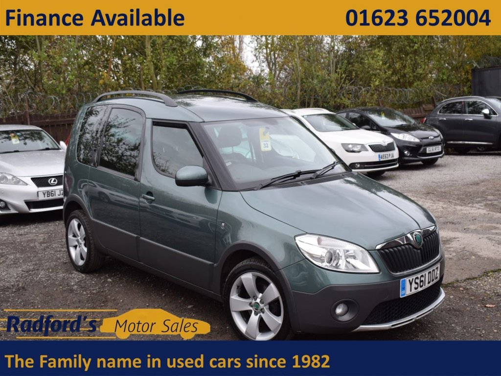 USED 2012 61 SKODA ROOMSTER 1.2 SCOUT TSI 5d 84 BHP