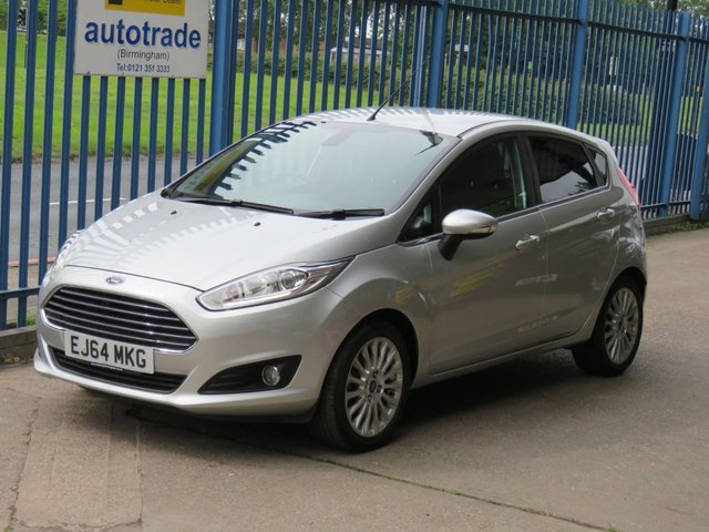 "USED 2014 64 FORD FIESTA 1.0 TITANIUM 5dr DAB Cruise Bluetooth & audio Alloys Fogs  CLIMATE CONTROL, CRUISE CONTROL, DAB RADIO, USB, VOICE CONTROL, 16"" ALLOY WHEELS,"