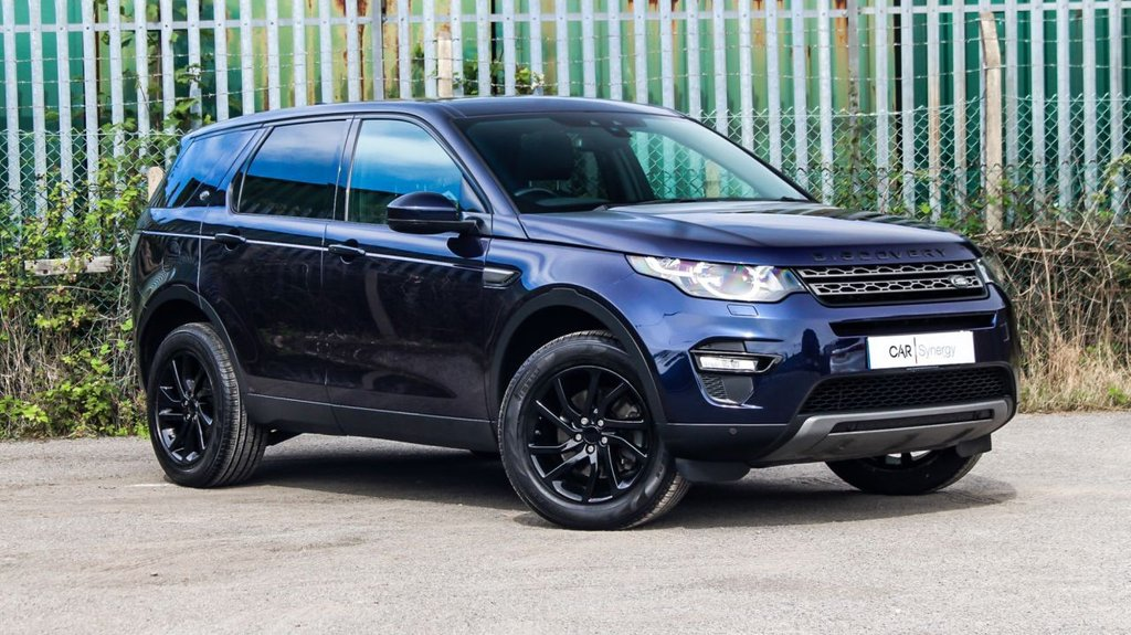 USED 2017 17 LAND ROVER DISCOVERY SPORT 2.0 TD4 SE TECH 5d 180 BHP