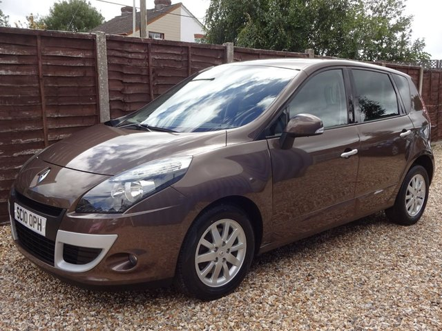USED 2010 10 RENAULT SCENIC 1.5 DCi PRIVILEGE TOMTOM *2 OWNERS*SATNAV*CLIMATE*CRUISE*HISTORY*