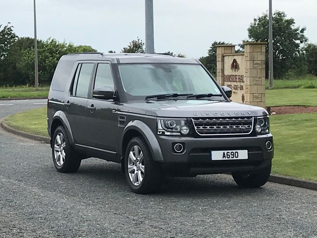 USED 2016 65 LAND ROVER DISCOVERY 3.0 SDV6 SE TECH 5d 255 BHP 7 SEATER, 8 SPEED AUTO, DAB