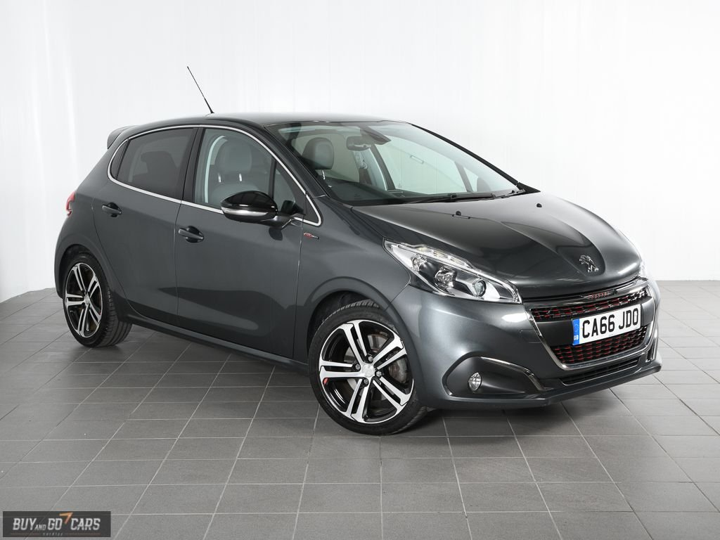 USED 2017 66 PEUGEOT 208 1.6 S/S GT LINE 5d 165 BHP Call us for Finance Availability and Delivery Options