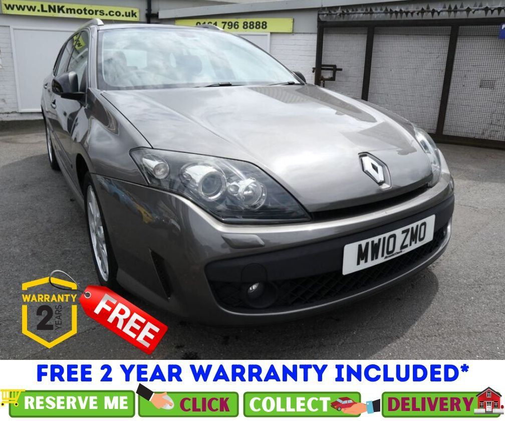 USED 2010 10 RENAULT LAGUNA 1.5 DYNAMIQUE TOMTOM DCI 5d 110 BHP *CLICK & COLLECT OR DELIVERY
