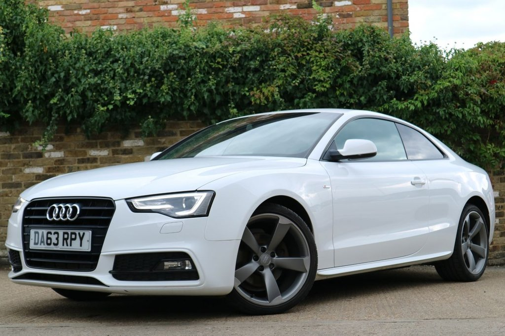 USED 2014 63 AUDI A5 2.0 TDI BLACK EDITION 2d 177 BHP