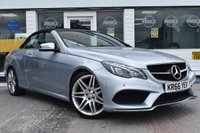 USED 2017 66 MERCEDES-BENZ E-CLASS 3.0 E 350 D AMG LINE EDITION CONVERTIBLE AUTOMATIC 2d 255 BHP NO DEPOSIT FINANCE AVAILABLE