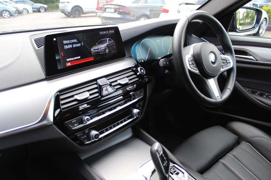 USED 2019 BMW 5 SERIES 2.0 520D XDRIVE M SPORT 4d 188 BHP