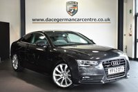 """USED 2012 62 AUDI A5 3.0 TDI QUATTRO SE 2DR AUTO 245 BHP Finished in a stunning metallic grey styled with 19"""" alloys. Upon opening the drivers door you are presented with half leather interior, full service history, satellite navigation, bluetooth, cruise control, bang & olufsen speakers, multi functional steering wheel, heated mirrors, parking sensors"""