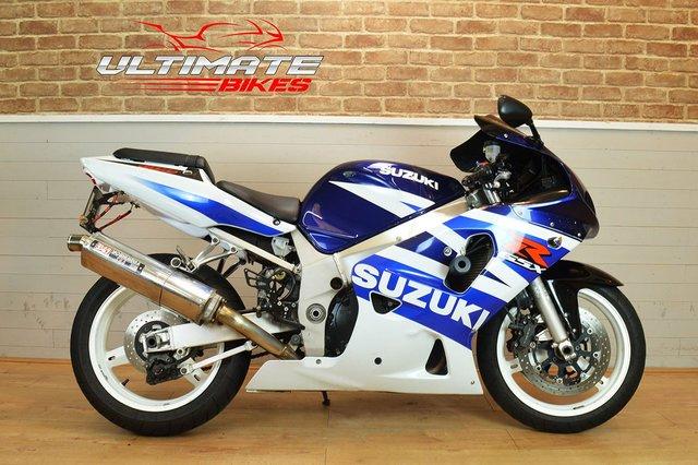 USED 2003 03 SUZUKI GSX-R600 K3