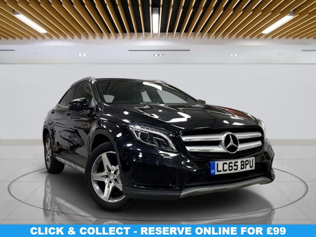 USED 2015 65 MERCEDES-BENZ GLA-CLASS 2.1 GLA220 CDI 4MATIC AMG LINE PREMIUM 5d 168 BHP 18-inch Alloy Wheels, Satellite Navigation, Half-Leather, Parking Sensor, Privacy Glass, Climate Control