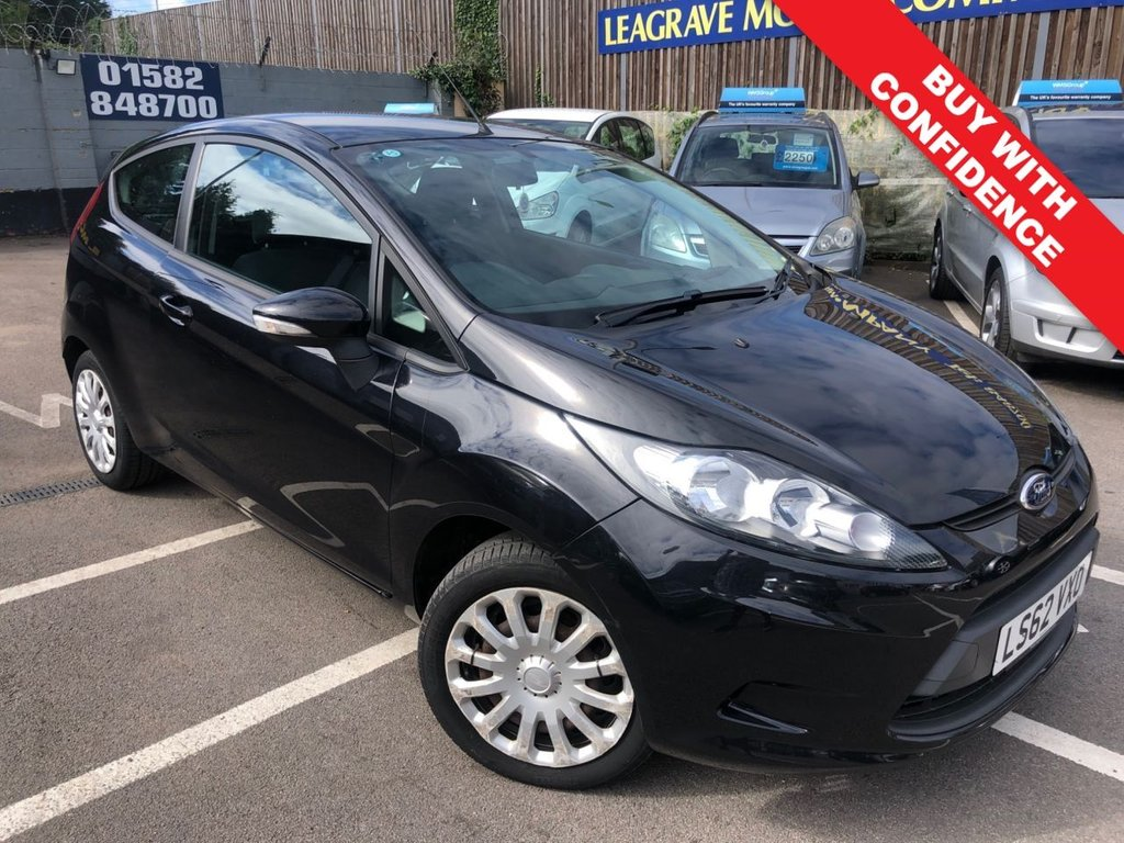 USED 2012 62 FORD FIESTA 1.4 EDGE 3d 96 BHP GREAT SERVICE HISTORY