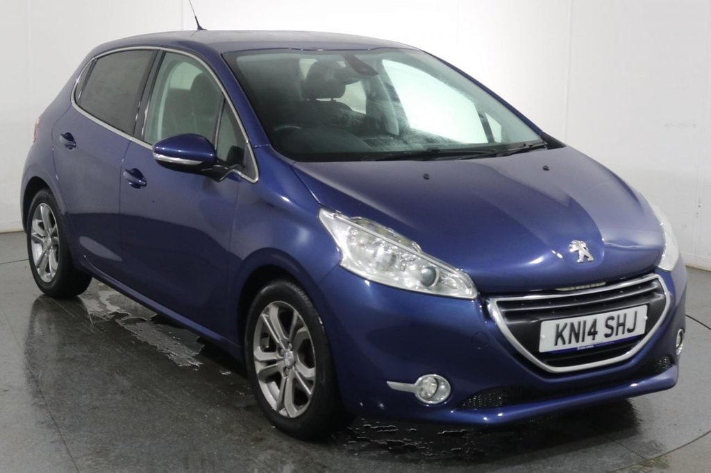 USED 2014 14 PEUGEOT 208 1.4 HDI ALLURE 5d 68 BHP 2 OWNERS with 5 Stamp SERVICE HISTORY