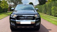 USED 2016 16 FORD RANGER 2.2 TDCi Limited 1 Double Cab Pickup Auto 4WD 4dr SATNAV+REVCAM+FSH+LEATHER+TBAR