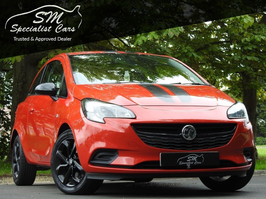 USED 2015 15 VAUXHALL CORSA 1.0 STING R ECOFLEX S/S 3d 113 BHP ONLY 38K FROM NEW A/C VGC